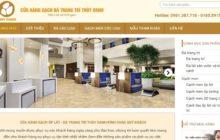 Giới thiệu mẫu website giới thiệu sản phẩm Gạch đá trang trí